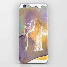 Color Spot Safari Elephant iPhone Skin