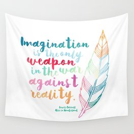 Alice In Wonderland | Quote 1 Wall Tapestry