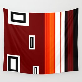 The Wall 3 Abstract Art by Saribelle Rodriguez Wall Tapestry