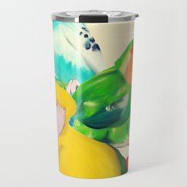 Beautiful Birds Travel Mug