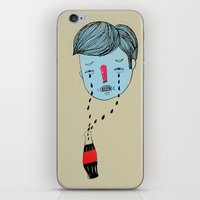 coke iPhone & iPod Skins featuring Coke Tears by Holy Moli