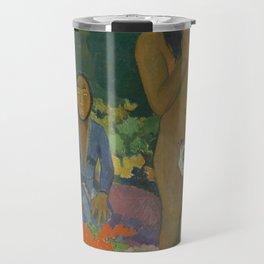Paul Gauguin - Parau na te Varua ino (Words of the Devil) Travel Mug