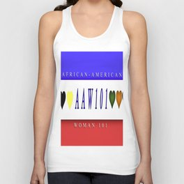 AAW101(African-America Woman 101) Unisex Tank Top