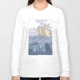 The Trench Blue Long Sleeve T-shirt