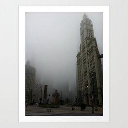Wrigley Building, Chicago Art Print
