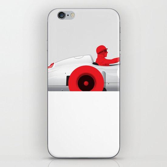Juan Manuel Fangio, Mercedes W196, 1955 iPhone & iPod Skin