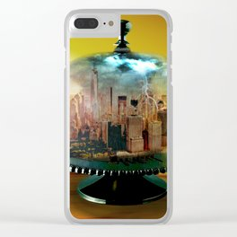Manhattan Under the Dome Clear iPhone Case