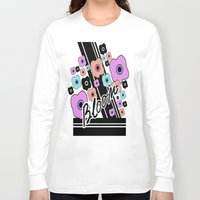 blush Long Sleeve T-shirts featuring blush by yaseminbakay