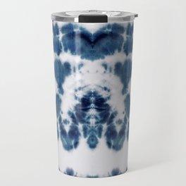 Shibori Not Sorry Travel Mug