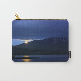 Strawberry Moon Over Sparks Lake - Oregon Landscape Carry-All Pouch