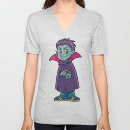 Little vampire Unisex V-Neck