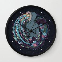 Mind Eruption Wall Clock