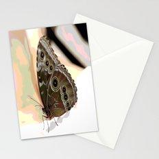 Bulls Eye Butterfly Stationery Cards
