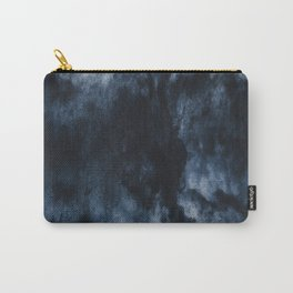 Glacial lagoon textured Carry-All Pouch