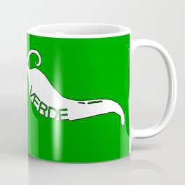 Chili Stache Green Coffee Mug