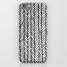 Black Threads iPhone 6s Slim Case