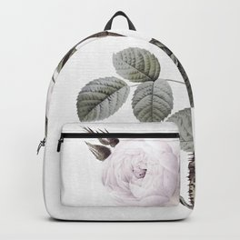 low colored rose pattern Backpack