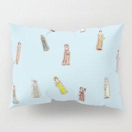 Jane Austen characters Pillow Sham