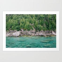 Islands of Tobermory Art Print