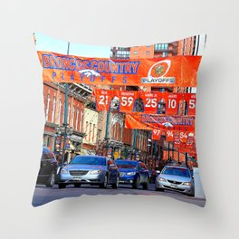 Broncos Country Throw Pillow