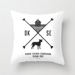Since 1987 - black Throw Pillow