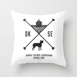 Since 1987 - black Throw Pillow