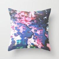 splatter Throw Pillows featuring Splatter by RDesigns