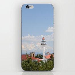 Whitefish Point Lighthouse - Lake Superior iPhone Skin