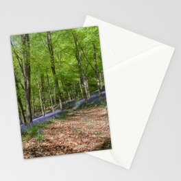 Down the Bluebell Path Stationery Cards
