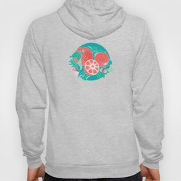Oranges and Acorns with leaves Hoody