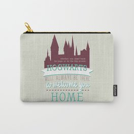 jk rowling quote Carry-All Pouch