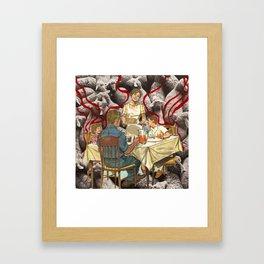 lambcakes Framed Art Print