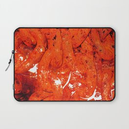 Red Abstract Art - Linked - By Sharon Cummings Laptop Sleeve