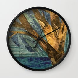 That Big Tree by the Lake Wall Clock
