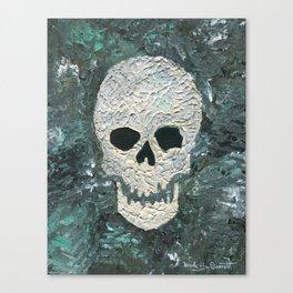 Large Skull Painting Canvas Print