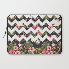 Floral Chevron Laptop Sleeve