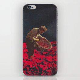 the gleaner iPhone Skin