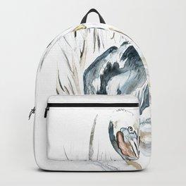 Tybee Island Pelican Backpack