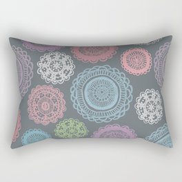 Doily Doodles Rectangular Pillow