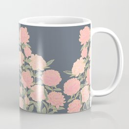 Pink peonies vintage pattern Coffee Mug