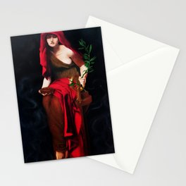 Copy of Priestess of Delphi - John Collier Stationery Cards