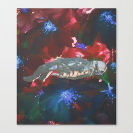 Drowning in Flowers Canvas Print