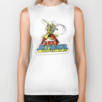 luke hemmings Biker Tanks featuring Luke Skywalker by Popp Art