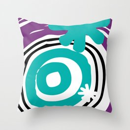 Warp Hole Throw Pillow