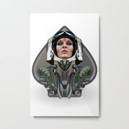 Kosmonaut 2 Metal Print
