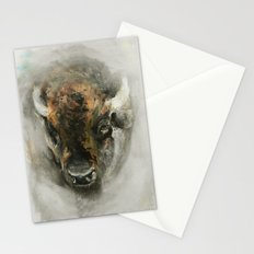Plains Bison Stationery Cards