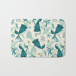 Aviary - Cream Bath Mat