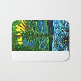 Perception of a Landscape Bath Mat