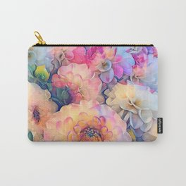 Sweet Dahlias Carry-All Pouch