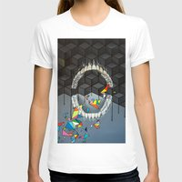 teeth T-shirts featuring Teeth by VikaValter